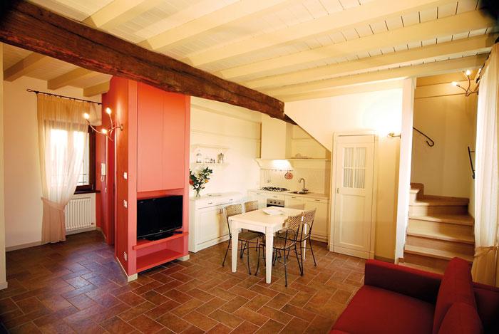 Residence corte del passone for 2 piani camera da letto ranch